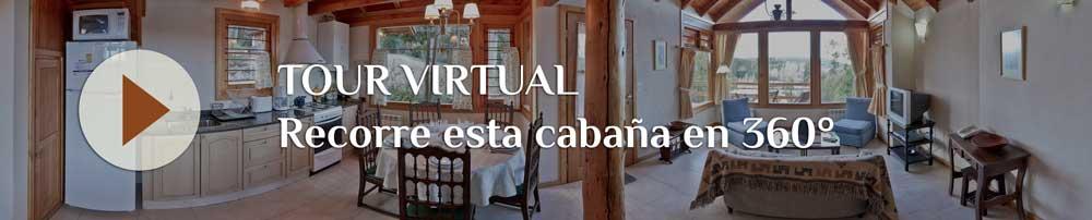 Tour Virtual Cabaña Bariloche